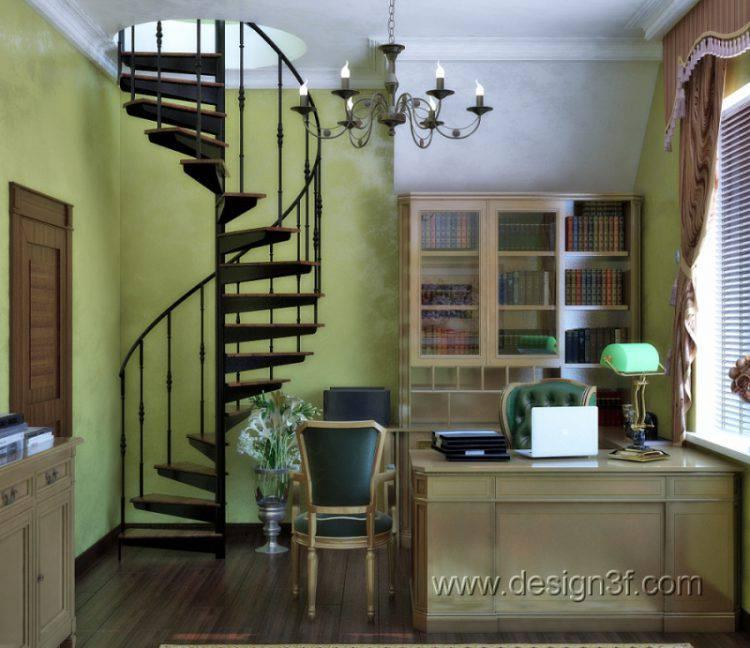 Цветовые сочетания: зеленый и коричневый