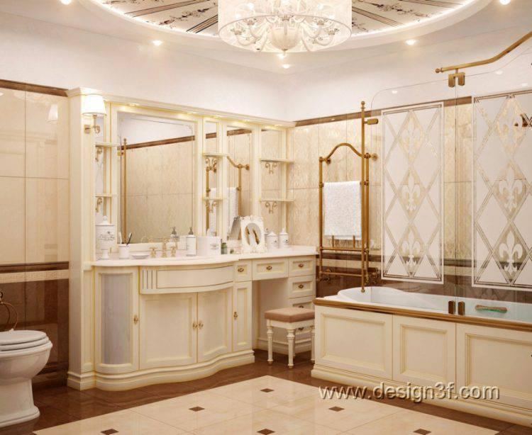 Большая ванная комната — как правильно оформить?