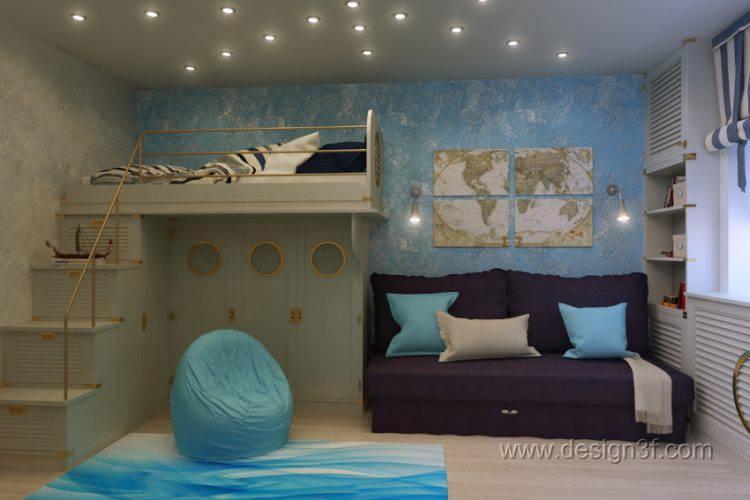 Интерьерные решения для детской комнаты