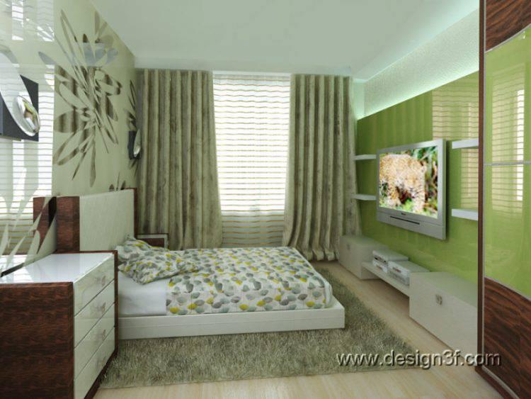 Дизайн интерьера двухкомнатной квартиры 50 м кв