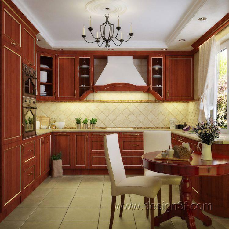 Дизайн кухни: фото от студии Design3F