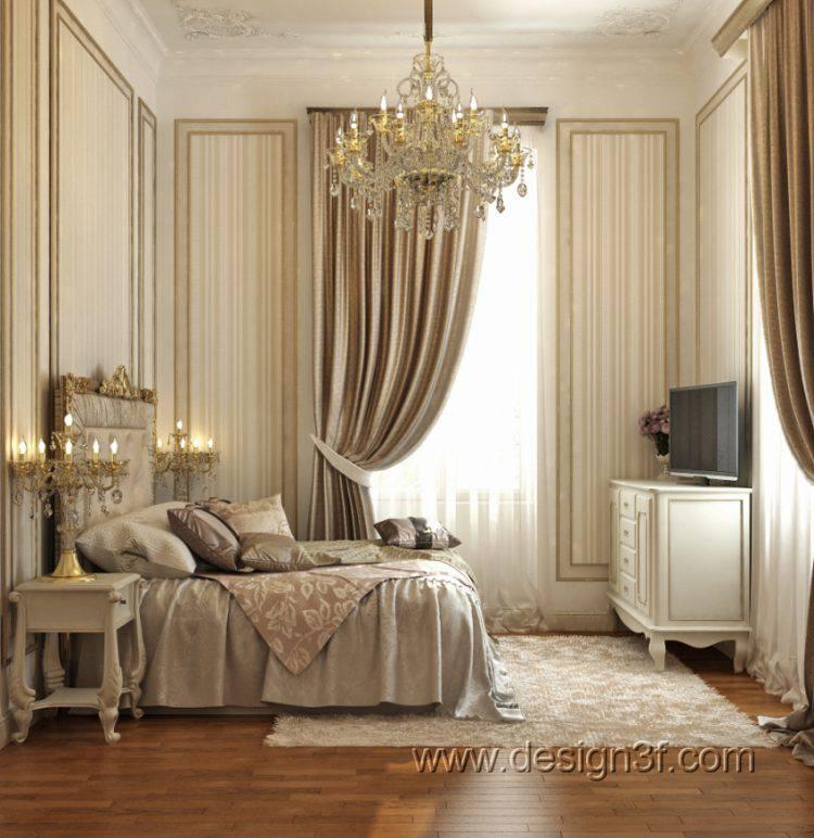 Дизайн интерьера спальни в разных стилях
