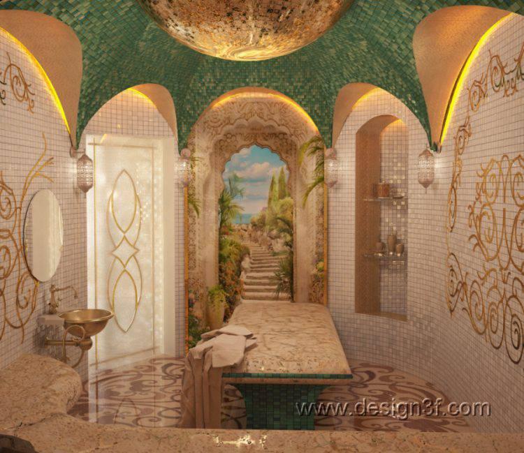 Хамам (турецкая баня). Принципы обустройства
