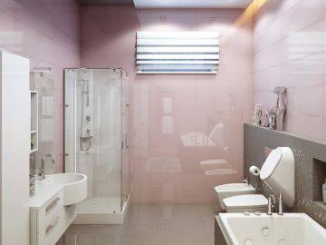 Современная ванная в доме