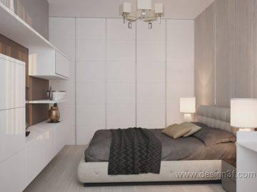 Интерьер квартиры 67 м2, современный стиль