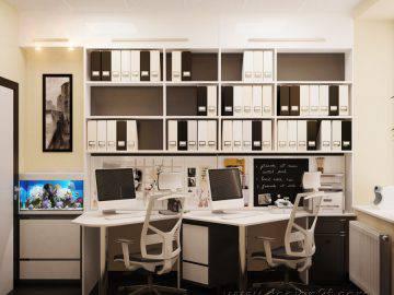 Интерьер офисного помещения в современном стиле