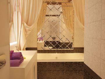 Интерьер ванной комнаты ар деко