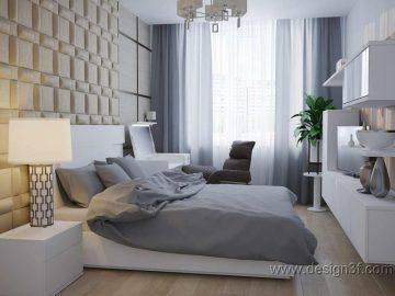 Два варианта оформления спальни
