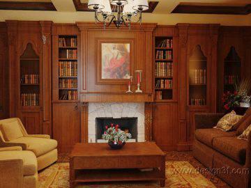 Уютная гостиная в английском стиле