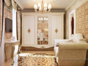 Современная спальня для гостей