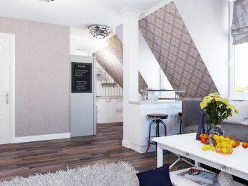 Дизайн интерьера двухкомнатной квартиры 45 кв м