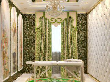 Интерьер комнаты для массажа