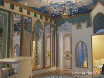 Сказочный интерьер детской комнаты
