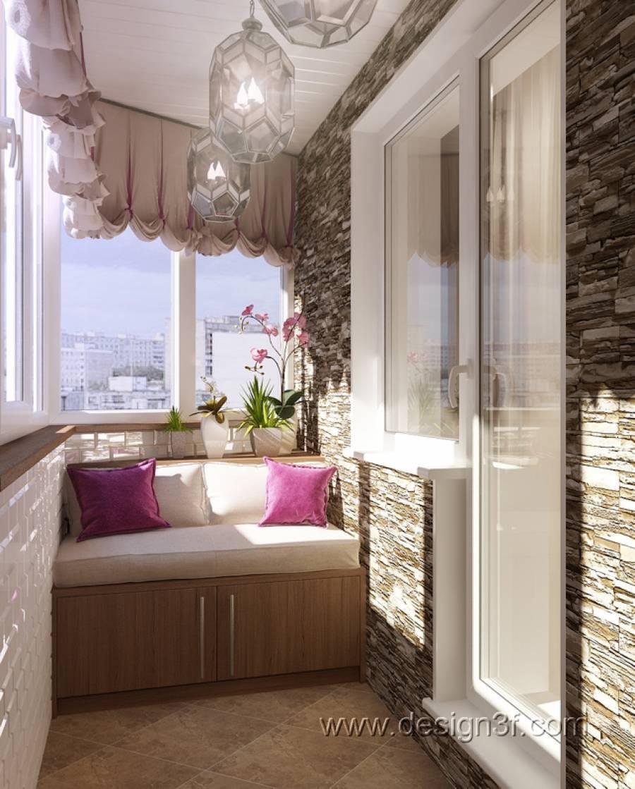 Проект: оформление балкона в квартире - игорь и люсьена фирс.