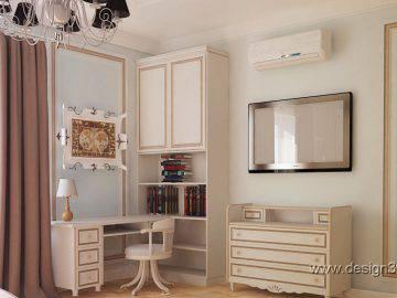Интерьер детской комнаты в классическом стиле