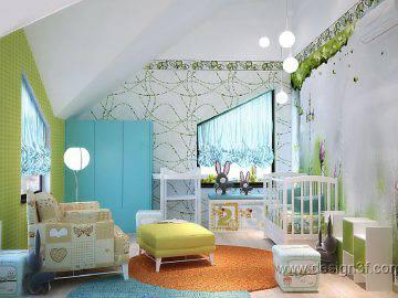 Дизайн интерьера детской комнаты для маленького ребенка