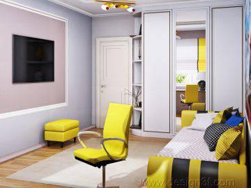 Современная квартира в Москве