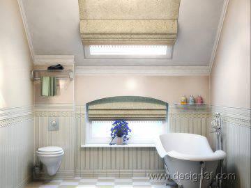 Дизайн ванной в американском стиле
