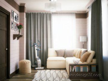 Дизайн интерьера гостевой комнаты