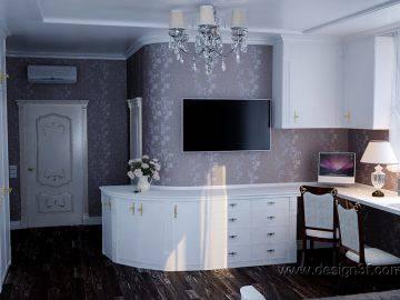 Интерьер комнаты для рукоделия