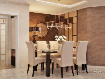 Интерьер гостиной в стиле арт-деко