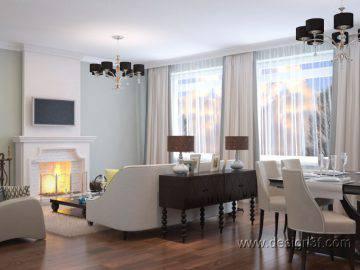 Европейский дизайн в интерьере дома