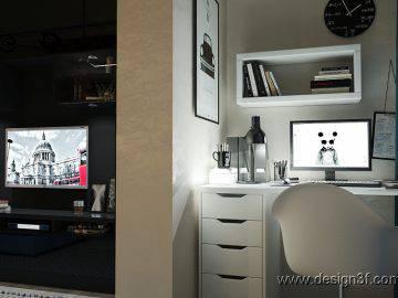 Современный интерьер квартиры 56 м2