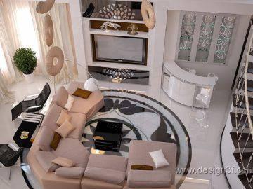 Оформление интерьера гостиной в современном стиле