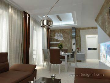 Интерьер современного дома в стиле минимализм