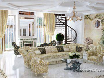 Современная классика в интерьере дома