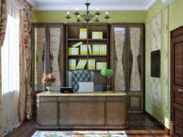Красивый интерьер кабинета