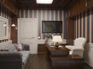Классический стиль в интерьере кабинета