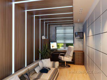 Дизайн домашнего кабинета в квартире