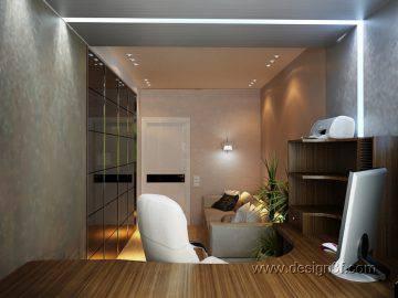 Комната для гостей и кабинет