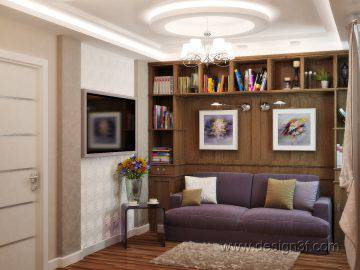 Интерьер квартиры в стиле арт деко