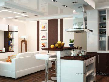 Дизайн студии в современном стиле