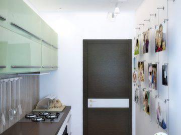 Варианты декорирования маленькой кухни
