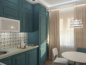 Дизайн кухни 9 кв.м.