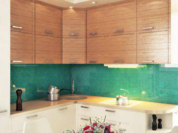 Дизайн интерьера небольшой кухни в современном стиле