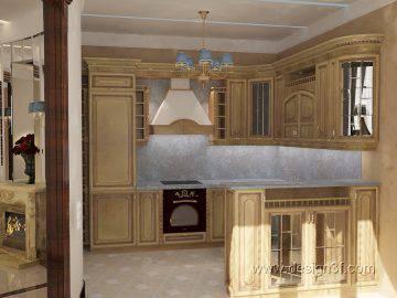 Интерьер дома в бежево коричневых тонах