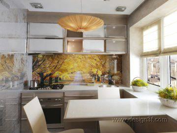 Дизайн современной кухни хрущевки