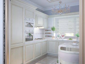 Интерьер кухни прованс