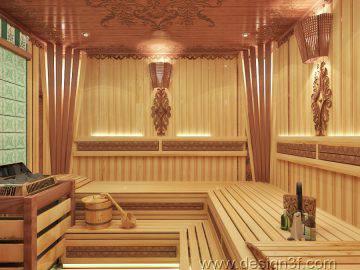 Сауна в частном доме