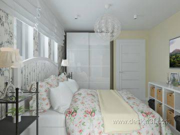 Спальня в стиле Икеа