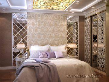 Дизайн спальни шоколадного цвета