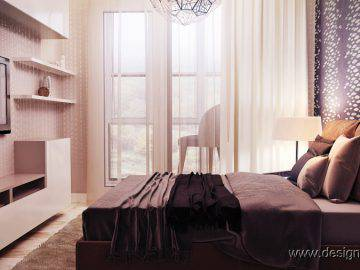 Интерьер современной спальни 10 м2
