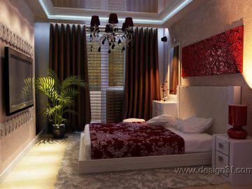 Спальня в современной стилистике