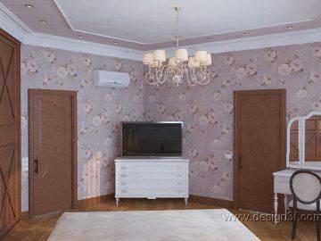 Комната для гостей в стиле классика