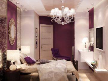 Арт-деко в интерьере спальни