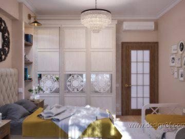 Красивый интерьер в классическом стиле